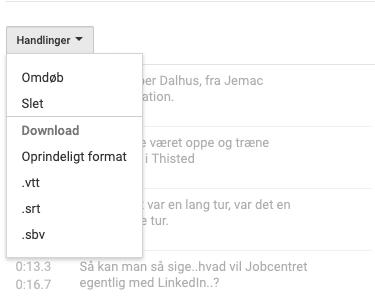 LinkedIn kursus tekstfil
